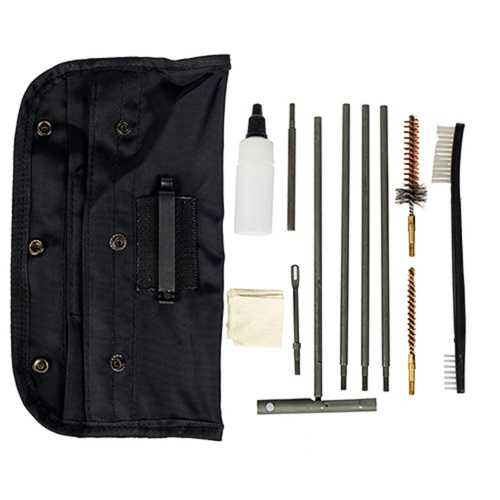 Tac Shield Universal GI Field 13 Piece Cleaning Kit Black