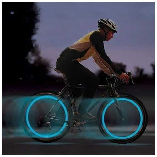 4pc Pack LED NEON COLORED Lights for Bikes, Cars and Motorcycle