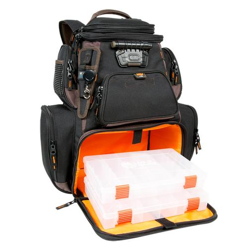 Wild River Tackle Tek&#153 Nomad XP - Lighted Backpack w/ USB Charging System w/2 PT3600 Trays
