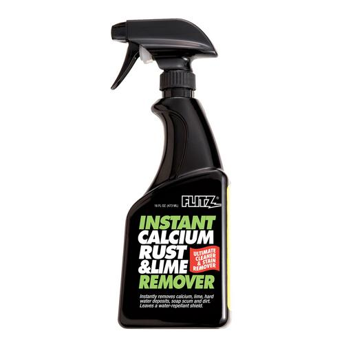 Flitz Instant Calcium Rust & Lime Remover - 16oz Spray Bottle
