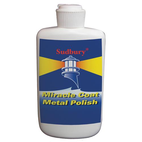 Sudbury Miracle Coat Metal Polish - 8oz Liquid