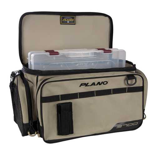 Plano Weekend Series Tackle Case - 2-3700 Stowaways Included - Tan