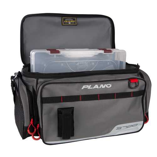 Plano Weekend Series Tackle Case - 2-3700 Stowaways Included - Gray