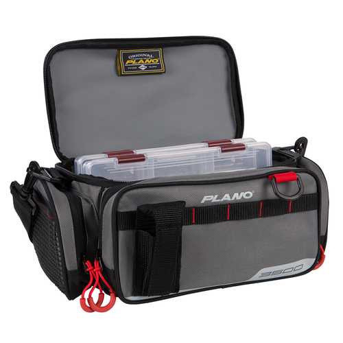 Plano Weekend Series Tackle Case - 2-3500 Stowaways Included - Gray