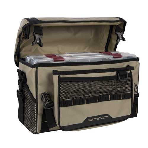 Plano Weekend Series Softsider&trade Tackle Bag - 2-3700 Stowaways Included - Tan
