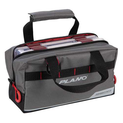 Plano Weekend Series Speedbag&trade - 2-3500 Stowaway&reg Included - Gray
