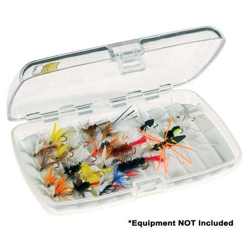 Plano Guide Series&trade Fly Fishing Case Medium - Clear