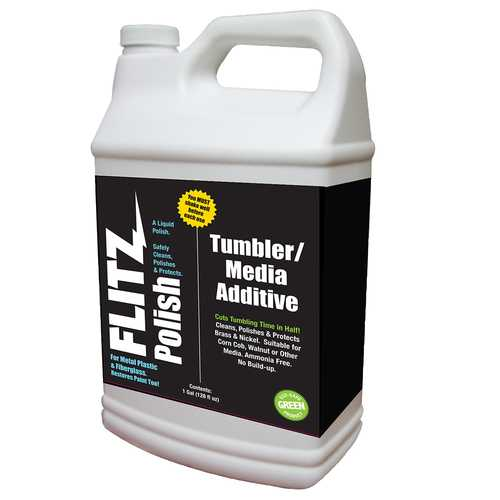 Flitz Polish/Tumbler Media Additive - 1 Gallon (128oz)