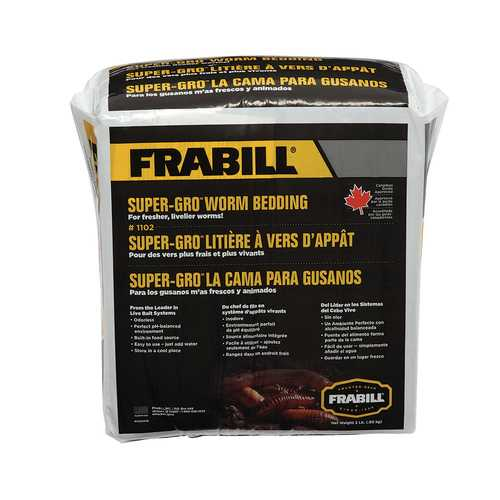 Frabill Super-Gro&reg Worm Bedding - 2lbs