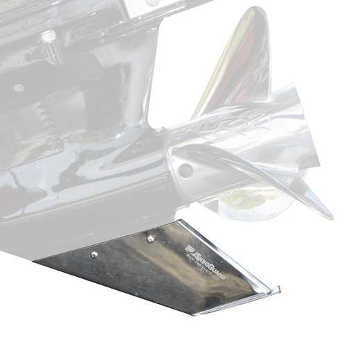 Megaware SkegGuard&reg 27081 Stainless Steel Replacement Skeg