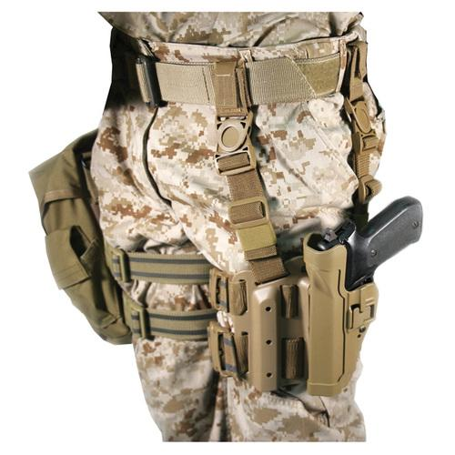 Serpa Tactical Level 2 Holster Coyote Tan Left Hand Beretta 92/96/M9 Std or A1 w/rails (NOT Brig/Elite)