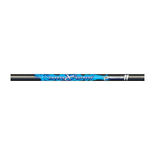 Predator 6075 Raw Shafts Nock Installed/Insert Loose