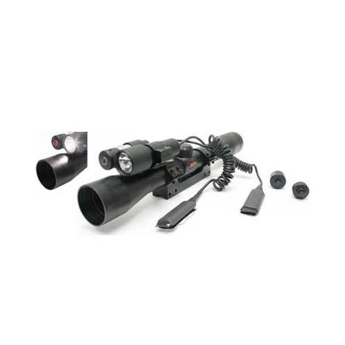 Gamo Varmint Hunter Kit, 4x32 Rifle Scope, Laser & Flashlight