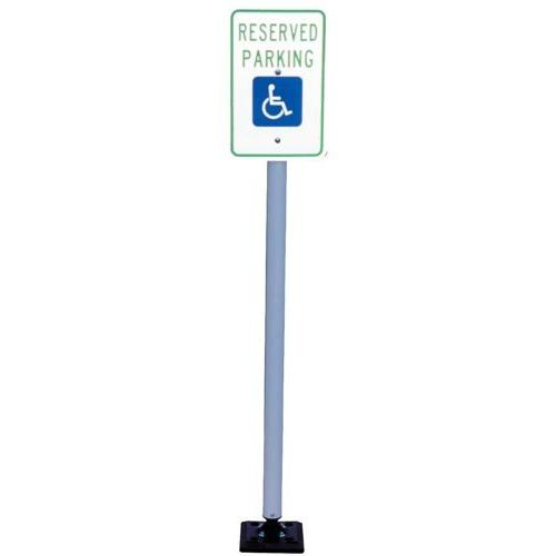 Handicap Sign with Fixed Base