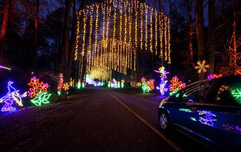 Top 5 Places To See Holiday Lights Colourthenight