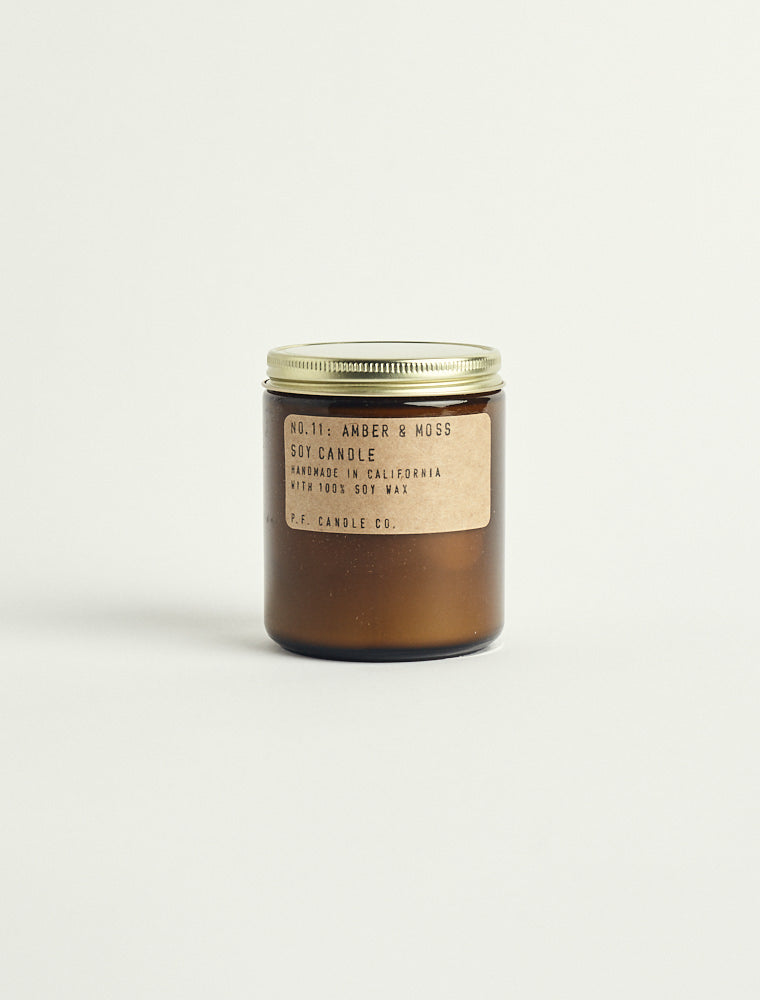 Amber & Moss Candle - Standard