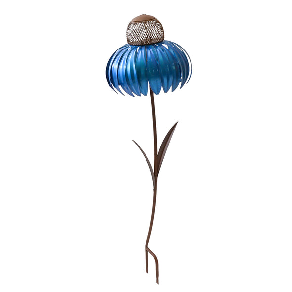 Blue Coneflower Bird Feeder