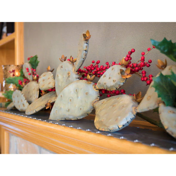 Prickly Pear Mantel Sculpture