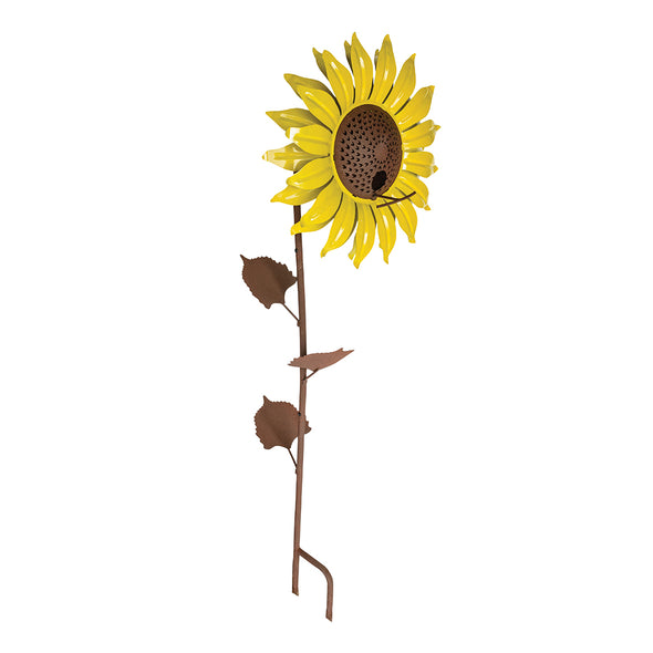 Yellow Sunflower Bird Feeder