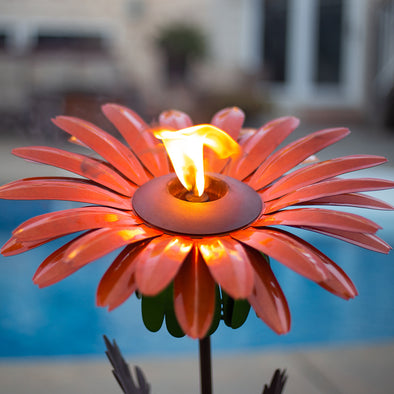 Orange Prince Daisy Torch