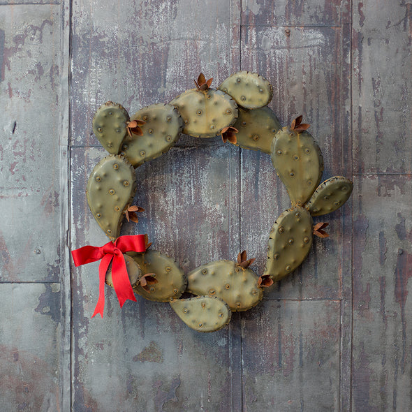 Prickly Pear Wreath