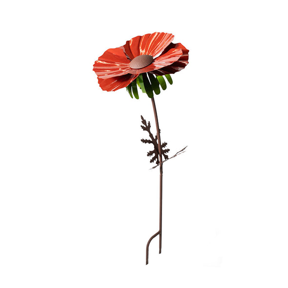 Red Poppy Torch