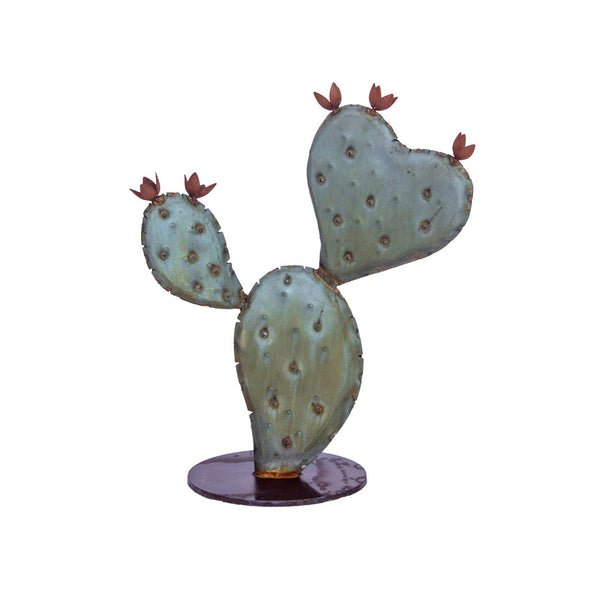 Prickly Pear Heart Sculpture