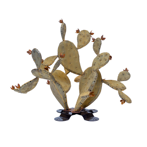 Steel Prickly Pear Sculpture - Redondo
