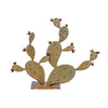 Steel Prickly Pear Sculpture - Ancho