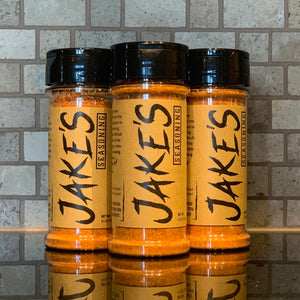 Jake's Seasoning - Meat Seasoning - Three Bottles