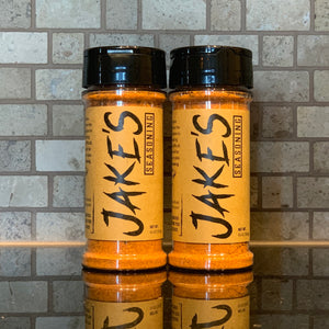 Jake's Seasoning - Meat Seasoning - Two Bottles