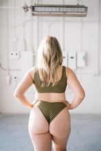 Load image into Gallery viewer, MICAELA BOTTOMS // OLIVE - Shop Moonstone Swim