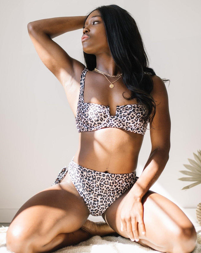 BAILEY BOTTOMS // LEOPARD II - Shop Moonstone Swim