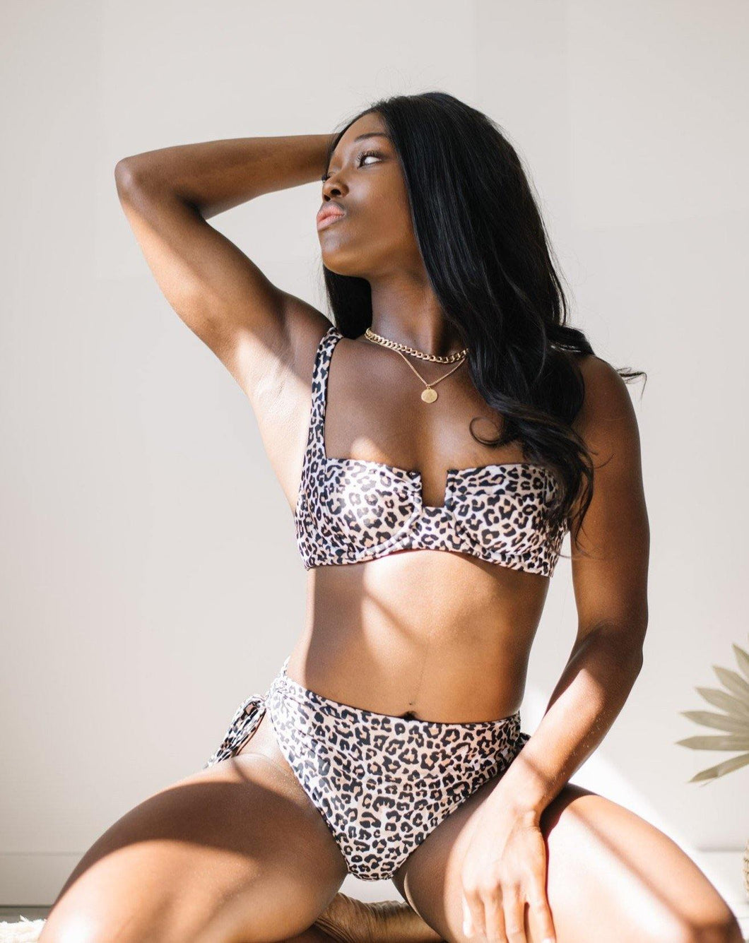SARAH TOP // LEOPARD II - Shop Moonstone Swim