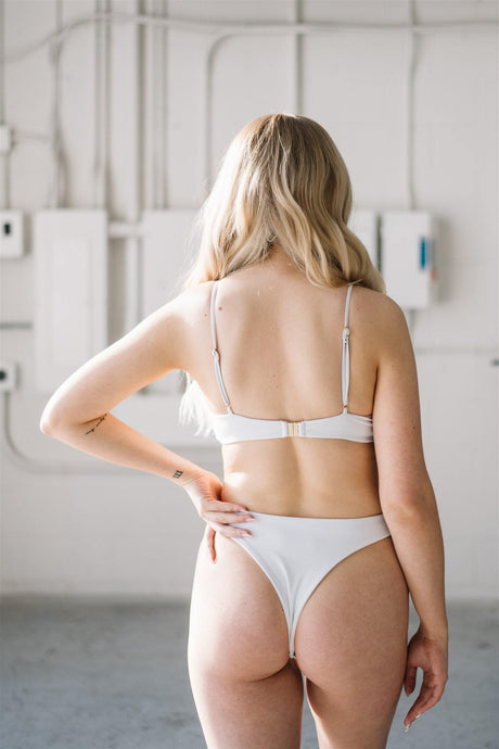 Jasmine Bottoms // White - Shop Moonstone Swim