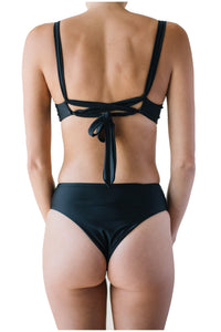 SARAH TOP // BLACK - Shop Moonstone Swim