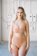 Load image into Gallery viewer, Eva One-Piece // Terracotta Ribbed - Shop Moonstone Swim