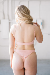 SIGNE TOP // PEACHY - Shop Moonstone Swim