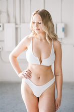 Load image into Gallery viewer, JASMINE BOTTOMS // WHITE - Shop Moonstone Swim