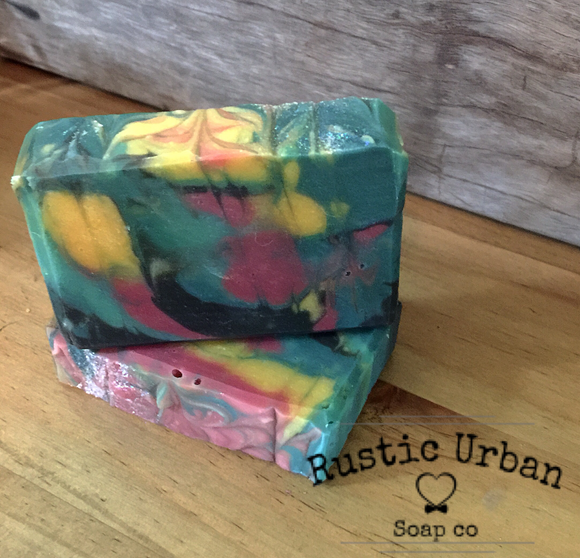 Groovy: The Hippy Bar - Rustic Urban Co Australian Made Natural Skincare and Handmade Soap