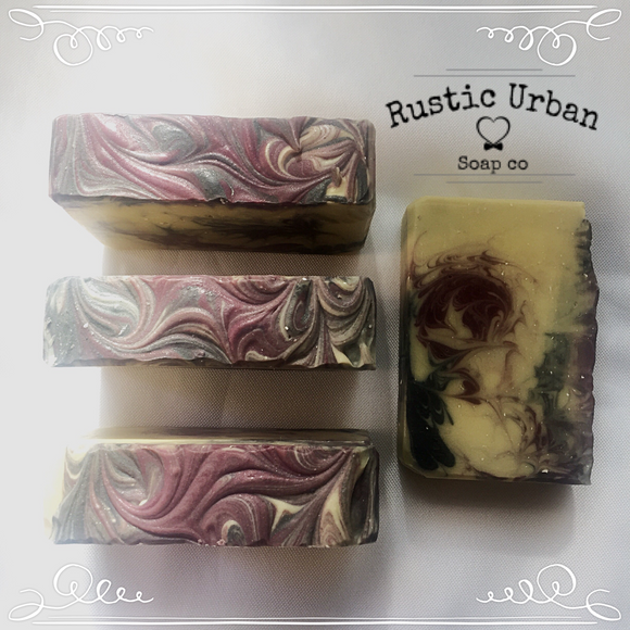 Black Raspberry - Rustic Urban Co Australian Made Natural Skincare and Handmade Soap