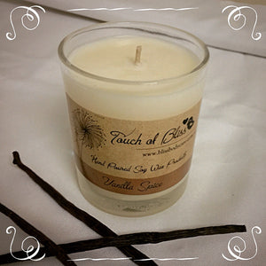 Vanilla Caramel Soy Candle - Rustic Urban Co Australian Made Natural Skincare and Handmade Soap
