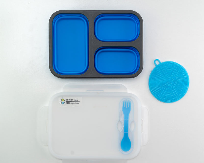 Summer Bundle Flexy Lunch Box Blue