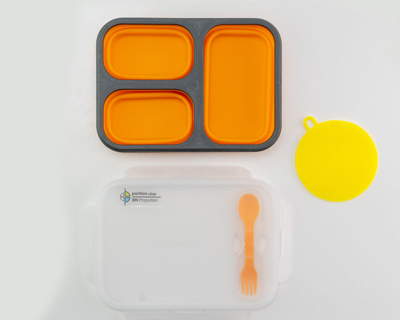 Summer Bundle Flexy Lunch Box Orange