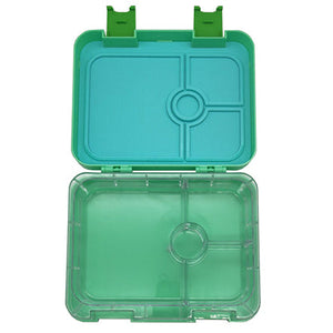 PORTION LUNCH BOX 4 COMPARTMENT GREEN