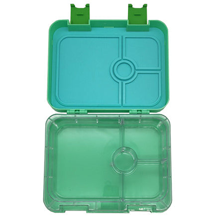 Green Portion Lunch Box Open
