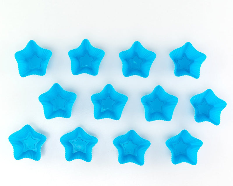Sonic the Hedgehog Bundle Silicone Cupcake Moulds Stars