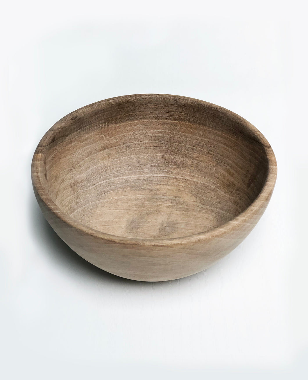 WALNUT WOODEN BREAKFAST BOWL