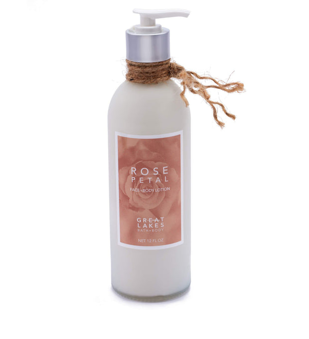 Rose Petal Lotion - Great Lakes Bath & Body