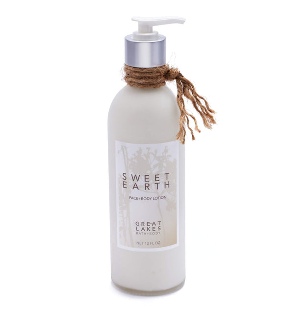 Sweet Earth Lotion - Great Lakes Bath & Body